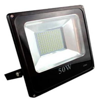 Reflector led 50w luz blanca y amarilla mi tiendita verde for Luz blanca o amarilla